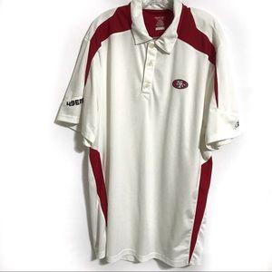 Reebok San Francisco 49ers NFL Polo Shirt 2XL